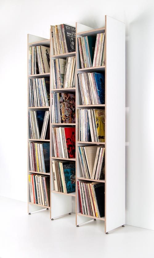 record shelf orwe made of birch plywood in semigloss white with almost height and a width of orwe can hold up to nearly records and therefore offers