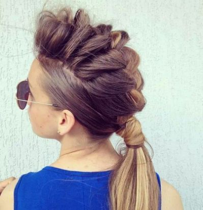 Braid- hawk | Hair | Pinterest