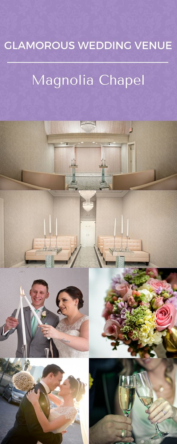 blush weddings at chapel of the flowers historic las vegas wedding venue this glamorous
