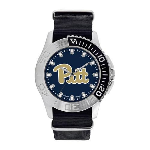 Pitt University Panthers Men's Watch Starter Nylon Sports Watch