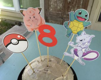 Go Pokemon centro pokemon Pokemon Pokemon Party Decor ir