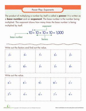 Printables Exponents Practice Worksheet exponent practice worksheet woodleyshailene 1000 ideas about exponents on pinterest simplifying