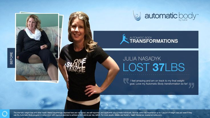 I'm so excited to be a finalist in the Automatic Body Transformation Contest. My Name is Julia Nasadyk and I have lost 37 pounds with help from the Automatic Body program.  CLICK HERE TO TRY OUT OUR APP FOR FREE AND SAMPLE OUR AMAZING PRODUCT:WWW.NUTRIESAMPLE.COM