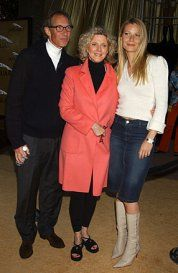 Gwyneth Paltrow, Blythe Danner & Bruce Paltrow