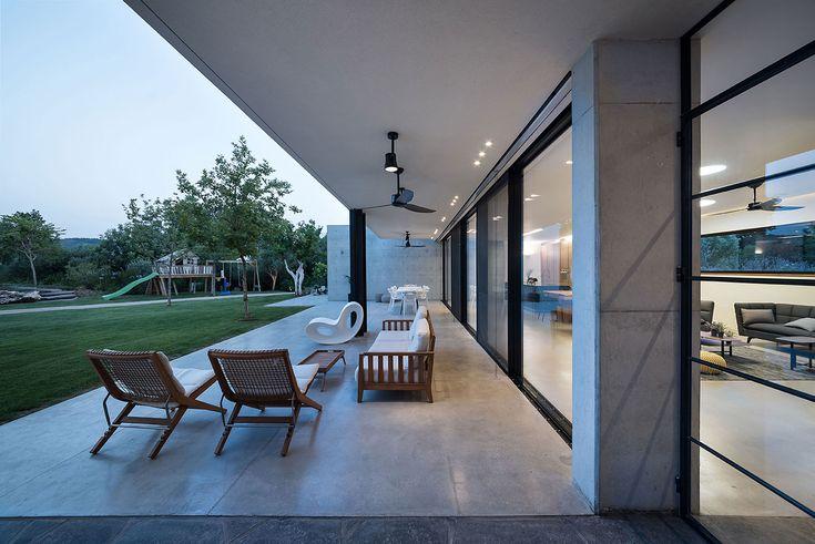 נוימן חיינר אדריכלים | carmel view house