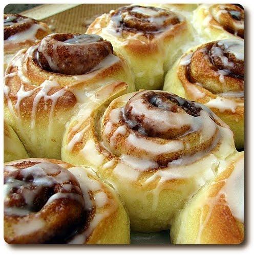 Super soft cinnamon rolls...mmm