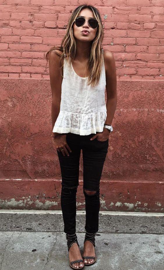 45 Ripped Jeans Outfit Ideas every stylish girl should try – Jennifer Schönwald