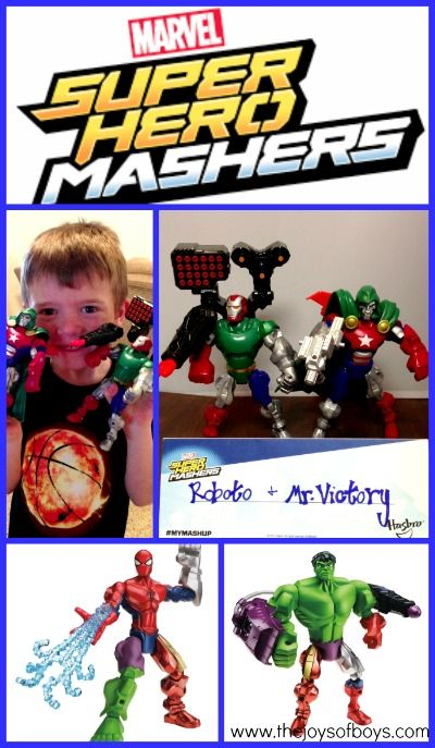 Superhero Mashers get played with EVERY. SINGLE. DAY at our house and have been my sons favorite toy for the past two years.  So fun!