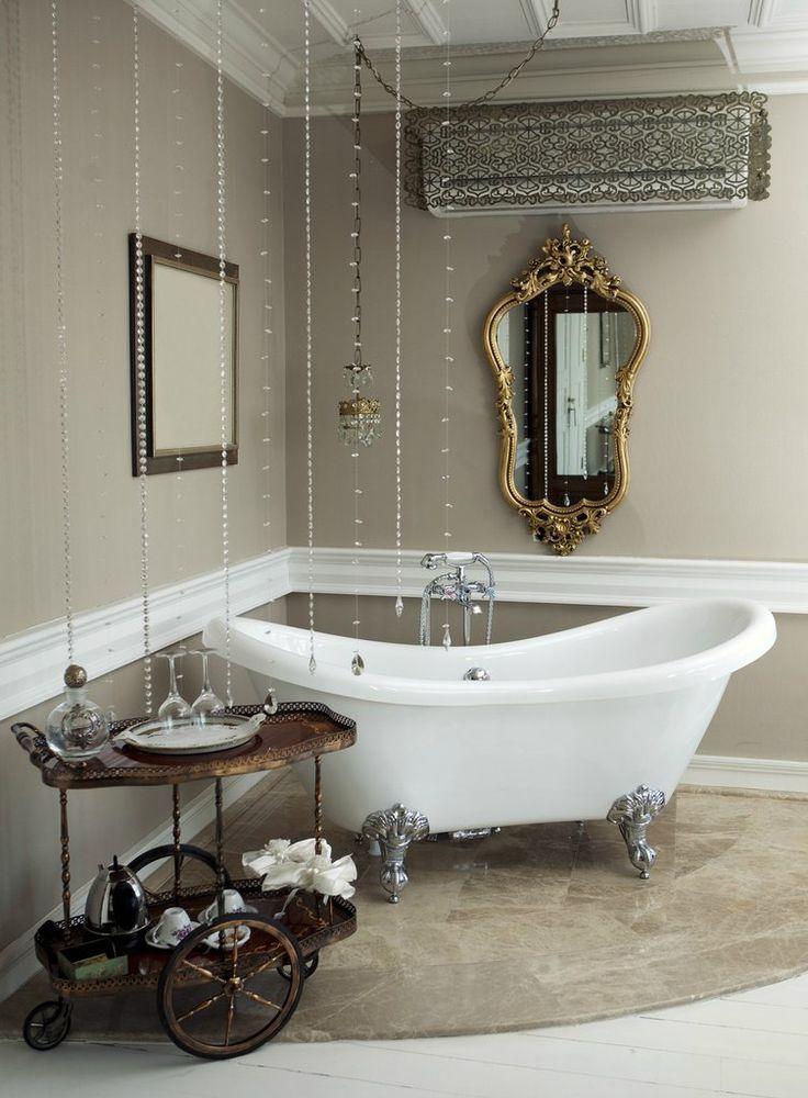 Becky 69 Inch Double Slipper Acrylic Bathtub U2013 Still Waters Bath