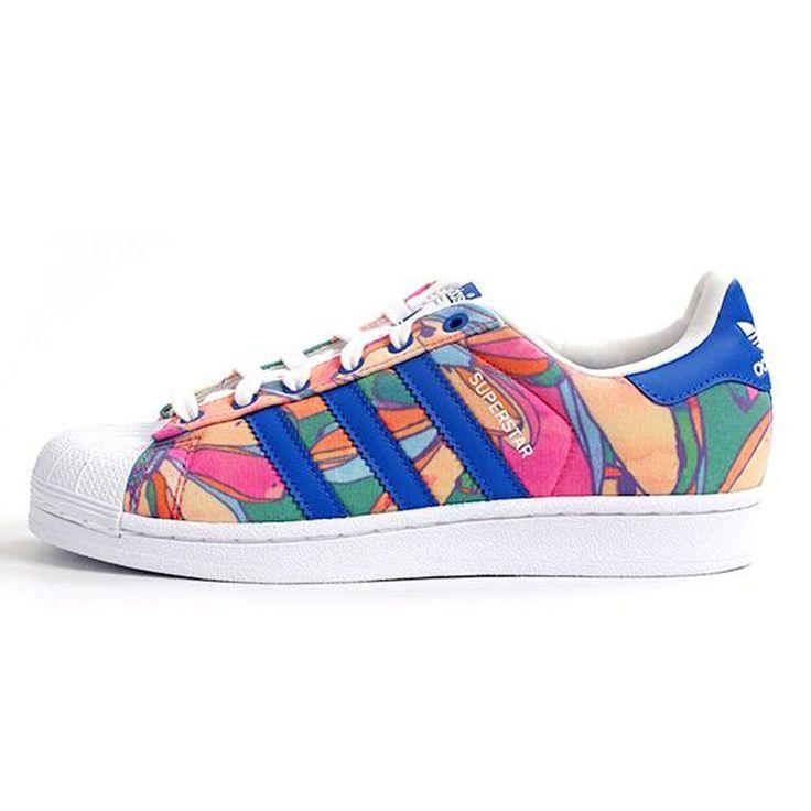 Adidas Superstar Floral