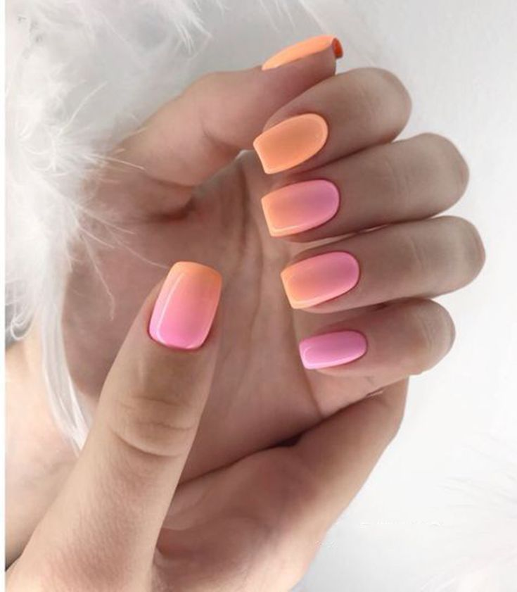 Fresh Extremely Cute Candy Colors Nail Art Design Summer