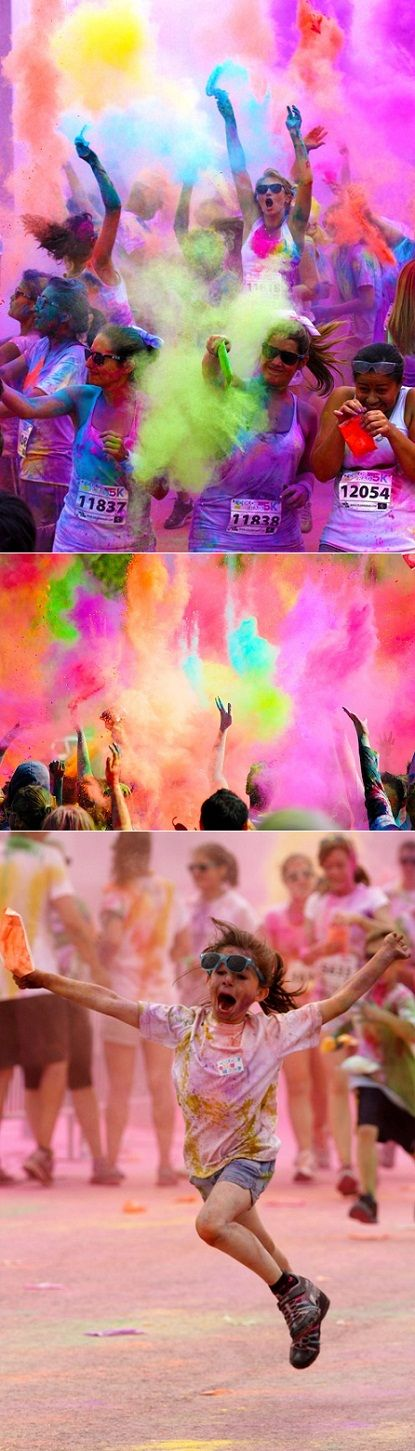 I have contacted Colour Me Rad to find out if they are organizing in Toronto. They have plans to. - Lori