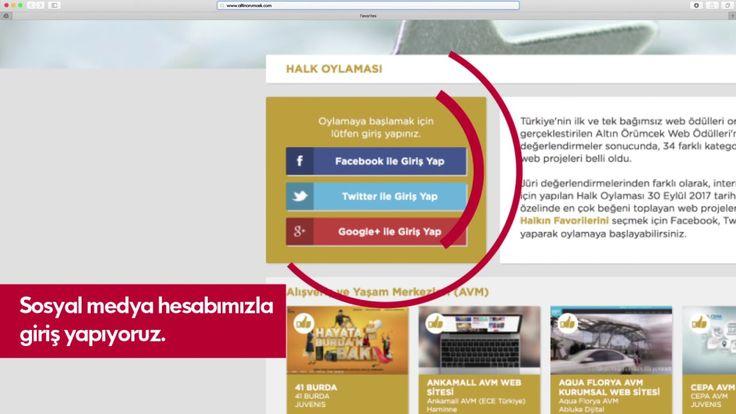 Oylamada son hafta!  Altın Örümcek'te AGT'ye oy vermek için videodaki adımları takip edebilirsiniz. Hemen katıl: http://www.altinorumcek.com/Halk-Oylamasi/#Kurumsal-Web-Sitesi