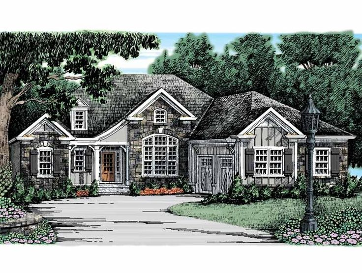 eplans french country house plan inviting rustic exterior 1971 square feet and 3 bedrooms from eplans house plan code