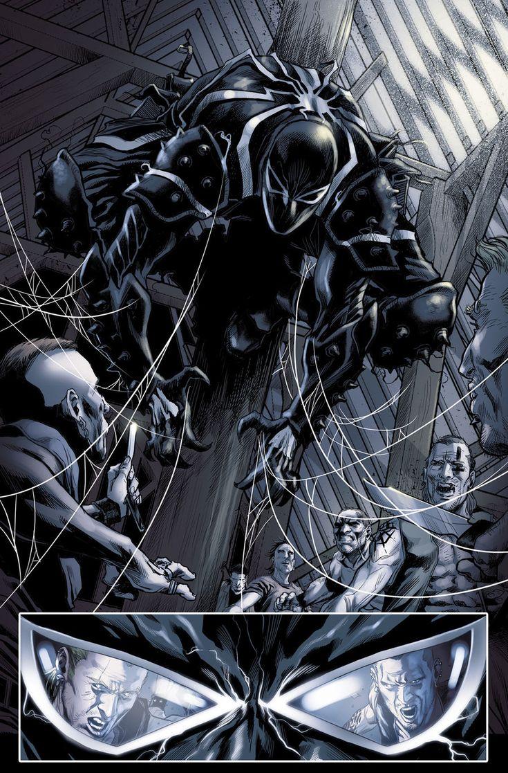 Venom 27.1 pg01 - Art by Marco Checchetto, Color Art by Fabio D'Auria