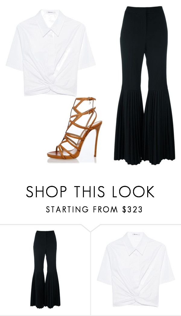 Look para trabalhar by paulaabeltrao on Polyvore featuring moda, T By Alexander Wang, STELLA McCARTNEY and Dsquared2