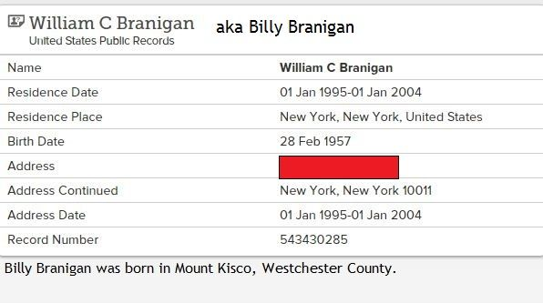 US Public Record about Billy, Laura's little brother. Born 1957, case closed.