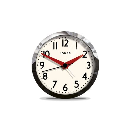 17 Best Images About Chrome Clocks From Jones Clocks On