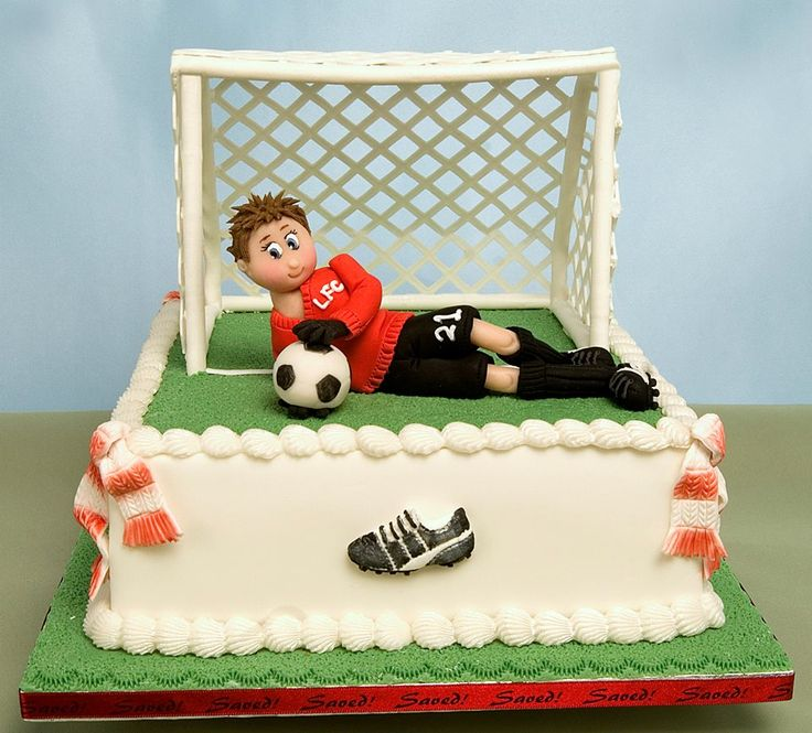 107 Best Images About Soccer Themed Cakes On Pinterest