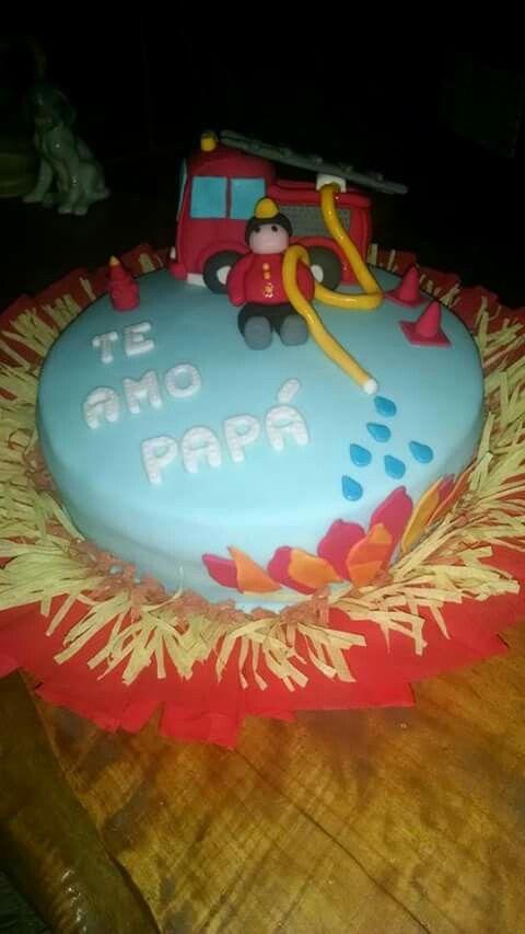 Torta de Bombero