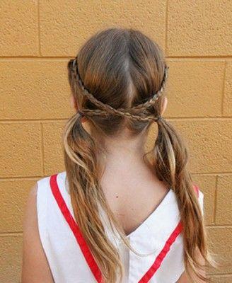 peinados faciles para niñas de escuela