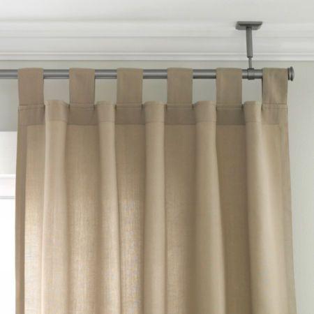 25 best ideas about corner curtain rod on