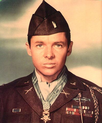 One of the greatest heroes of WW2, selfless and fearless . Audie Murphy is still one of the most decorated soldiers in history.
