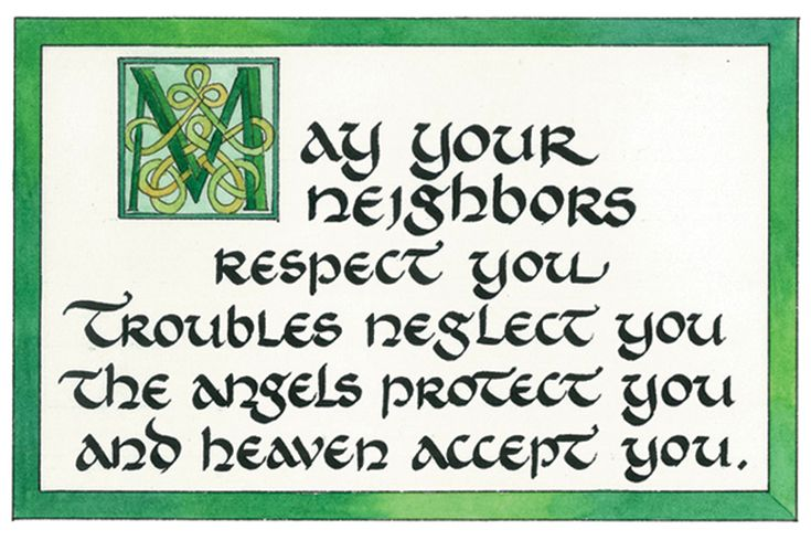 May your neighbors respect you trouble neglect you tattoo