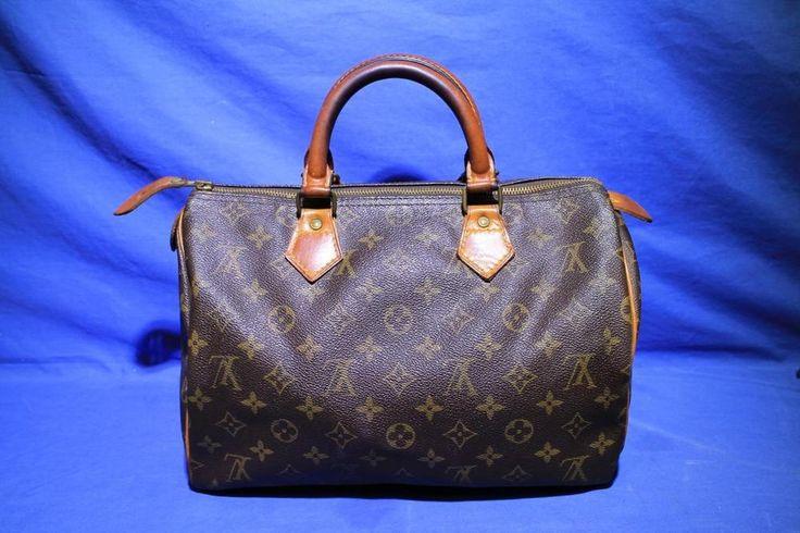 1889 Vintage Louis Vuitton Speedy 30 Monogram Handbag | Clothing, Shoes & Accessories, Women's Handbags & Bags, Handbags & Purses | eBay!