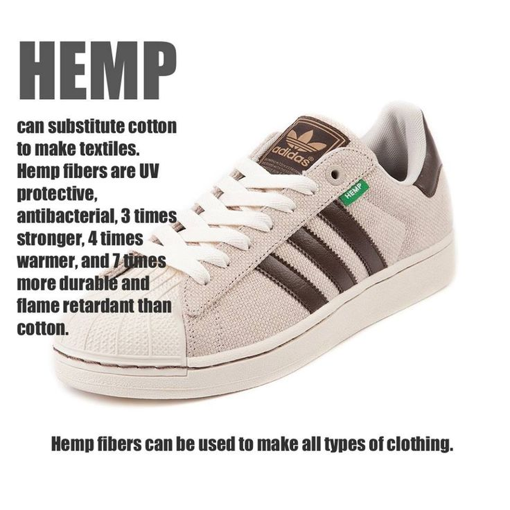 Hemp fibers can be used to make clothing