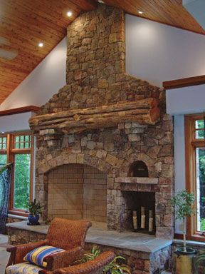 153 best Home is where the Hearth is. images on Pinterest | Rustic ...