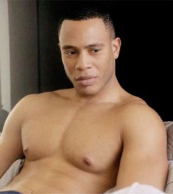 This is Trai Byers, you may know him as the fine-as-hell Andre Lyon on FOX's new drama Empire. | Trai Byers' Hotness Is A Lion And You Are Merely His Prey