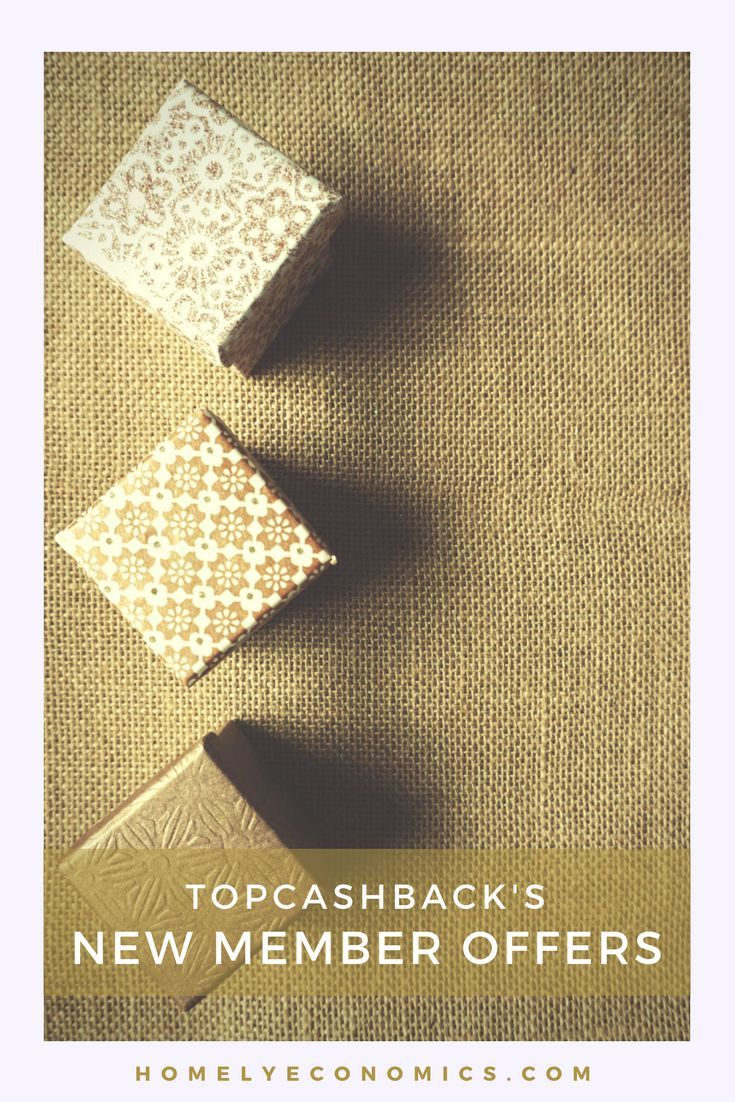 There are always lots of TopCashback freebies - great deals to entice new members to join up. Here are the latest free offers for joining Top Cashback!