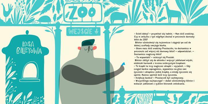 polska ilustracja dla dzieci: Zapowiedź - Trzecie urodziny Prosiaczka