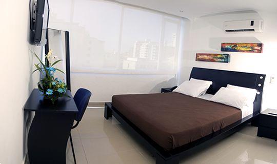 Habitación JS  HOTEL TAYRONA SANTA MARTA