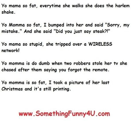 Your Mama Jokes 28