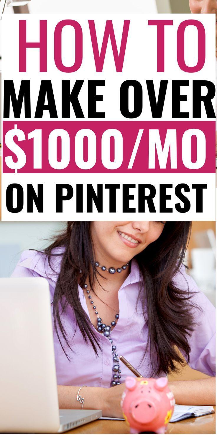 How To Make Money On Pinterest: Beginners Edition – Smartnancials   Personal Finance   Blogging   Side Hustles