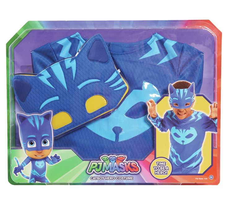 Buy PJ Masks Cat Boy Dress Up Set at Argos.co.uk, visit Argos.co.uk to shop online for Children's fancy dress costumes, Children's fancy dress, Role play, Toys