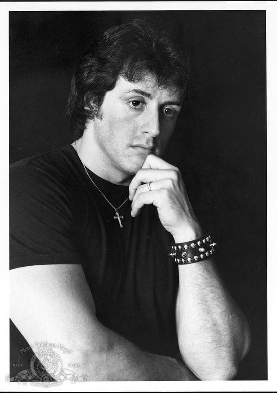 Sylvester Stallone in 'Rocky II', 1979.