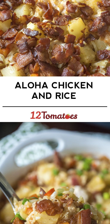 Aloha Chicken And Rice