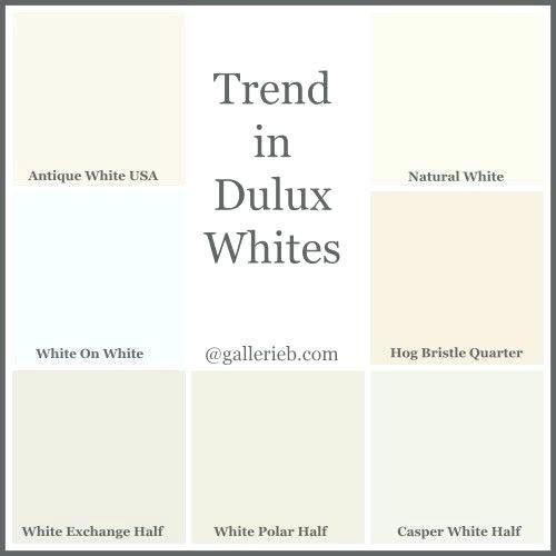 Minimalist House Exterior Design: Dulux Paint Colour Charts