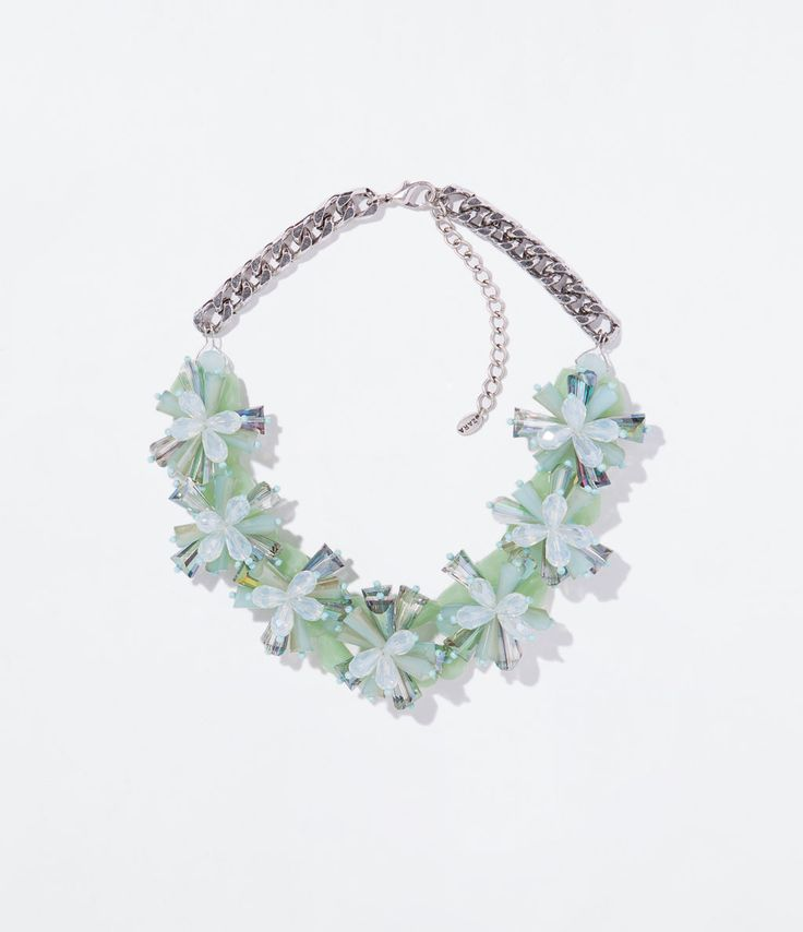 ZARA - WOMAN - FLOWER NECKLACE REF. 1856/040 PHP 2,595