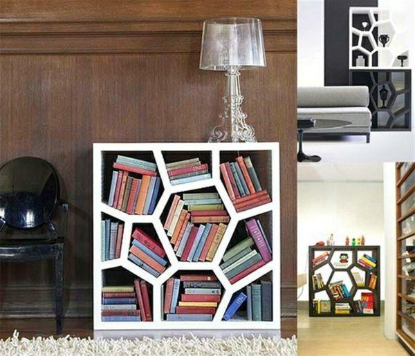 Opus Bücherregal-moderne Form