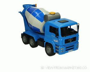 MAN Cement Mixer Bruder 02744