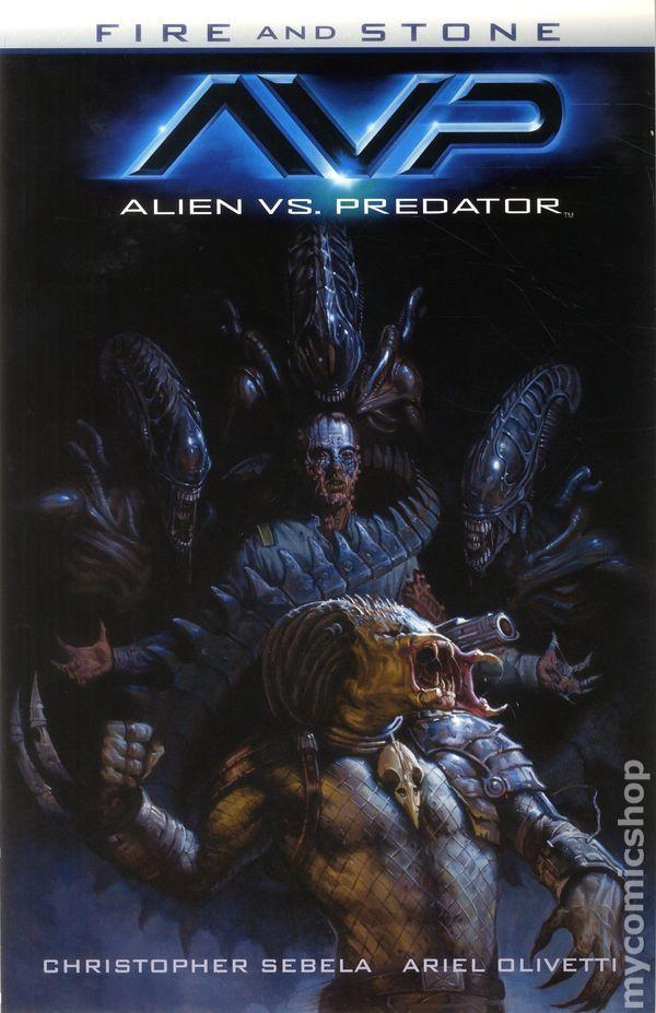 Alien vs. Predator Fire and Stone TPB (2015 Dark Horse) 1-1ST