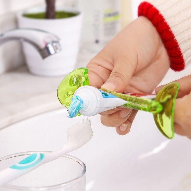 Dispenser Home Accessories Peelers Bathroom Tool Toothpaste Dispenser
