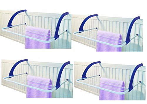 4 X Heavy Duty 5 Bar Radiatior Airer Laundry Washing Clothes Socks Airer Drier White Indoor Airer With Foldable Arms Wilson_Direct http://www.amazon.co.uk/dp/B00N42U8U8/ref=cm_sw_r_pi_dp_2Dydub0QHBT4R