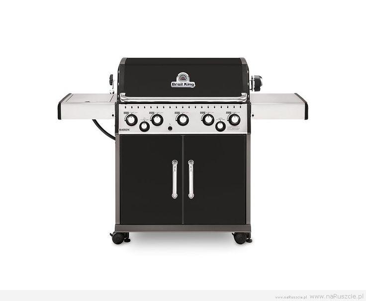 Pięciopalnikowy grill gazowy Broil King Baron 590 oferuje moc i wydajność, dzięki którym urządzenie to spełnia oczekiwania nawet najbardziej wymagających szefów kuchni.