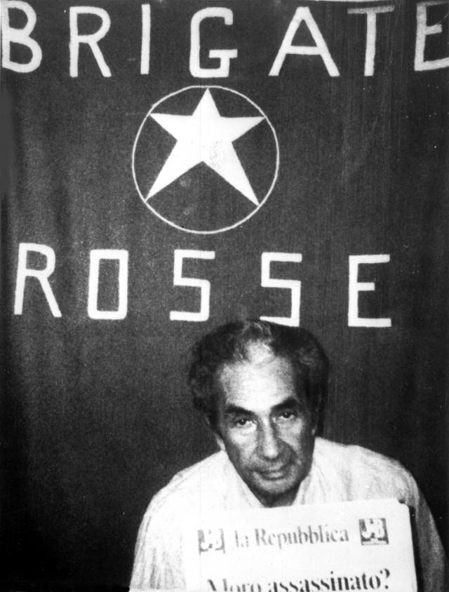 1978 - Aldo Moro prigioniero delle Br (Ansa)