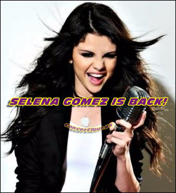 www.ConcertTour.us - SELENA GOMEZ is Back With her Latest Album and a New 2016 Concert Tour for REVIVAL.